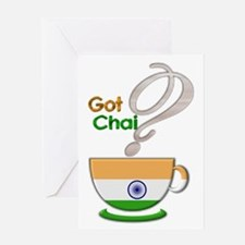 Got Chai? Indian - Greeting Card
