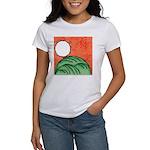 Hanafuda - August - Women's T-Shirt