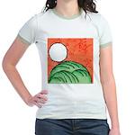 Hanafuda - August - Jr. Ringer T-Shirt