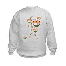 Hearts (Flag - India) - Sweatshirt