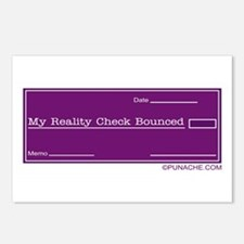 MY REALITY CHECK BOUNCED Postcards (Package of 8)