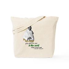 Mahatma Gandhi - Be The Change - Tote Bag