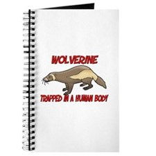 Wolverine trapped in a human body Journal
