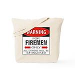 Firemen Tote Bag