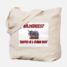 Wildebeest trapped in a human body Tote Bag