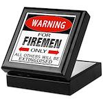 Firemen Keepsake Box