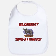 Wildebeest trapped in a human body Bib