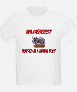 Wildebeest trapped in a human body T-Shirt