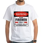 Firemen White T-Shirt