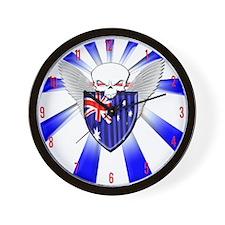 Australian Defender Wall Clock