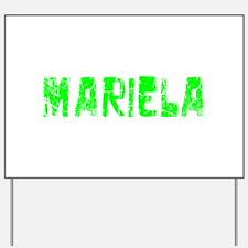 Mariela Faded (Green) Yard Sign