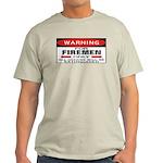 Firemen Ash Grey T-Shirt