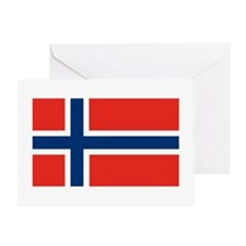 Norway Flag Greeting Card