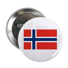 """Norway Flag 2.25"""" Button"""