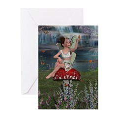 Megan, A Young Fairy Greeting Cards (Pk of 10)