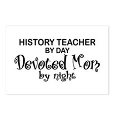 History Teacher Devoted Mom Postcards (Package of