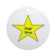 Stage Mom Ornament (Round)