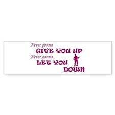 Rickroll'd Bumper Bumper Sticker