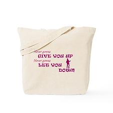 Rickroll'd Tote Bag