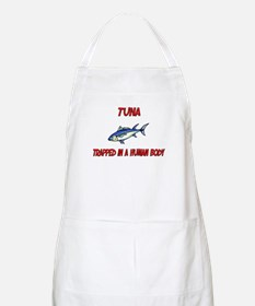 Tuna trapped in a human body BBQ Apron