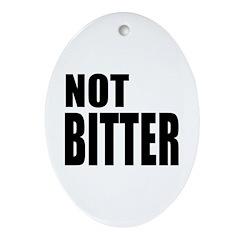 NOT BITTER Not Bitter Oval Ornament