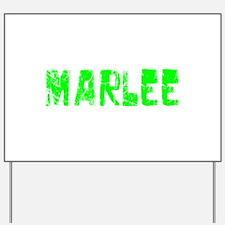 Marlee Faded (Green) Yard Sign
