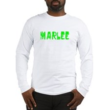 Marlee Faded (Green) Long Sleeve T-Shirt