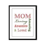 Mom Mother's Day Framed Panel Print