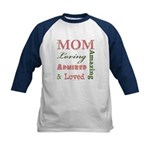 Mom Mother's Day Kids Baseball Jersey