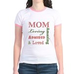 Mom Mother's Day Jr. Ringer T-Shirt