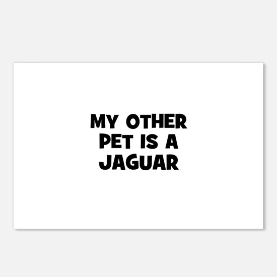 my other pet is a Jaguar Postcards (Package of 8)