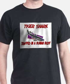 Tiger Shark trapped in a human body T-Shirt