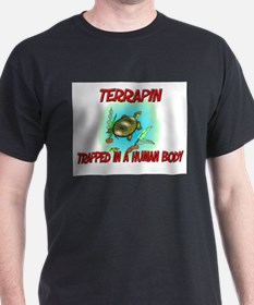 Terrapin trapped in a human body T-Shirt