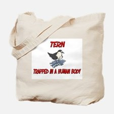 Tern trapped in a human body Tote Bag