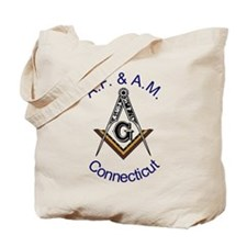 Connecticut Square and Compas Tote Bag