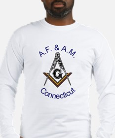 Connecticut Square and Compas Long Sleeve T-Shirt