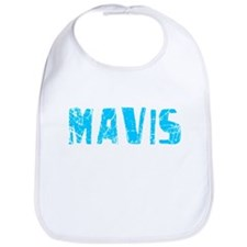 Mavis Faded (Blue) Bib
