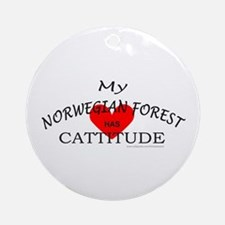 NORWEGIAN FOREST Ornament (Round)