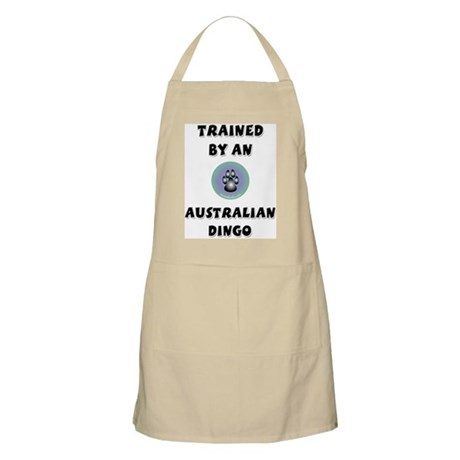 Trained by a Dingo BBQ Apron