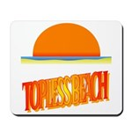 Topless Beach Mousepad