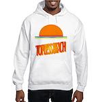 Topless Beach Hooded Sweatshirt