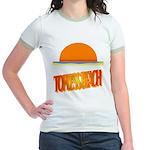 Topless Beach Jr. Ringer T-Shirt