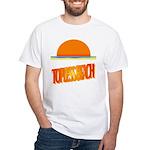 Topless Beach White T-Shirt