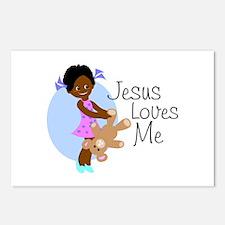 Jesus Loves Me Postcards (Package of 8)