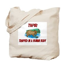 Tapir trapped in a human body Tote Bag