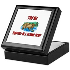 Tapir trapped in a human body Keepsake Box