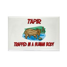 Tapir trapped in a human body Rectangle Magnet