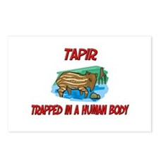 Tapir trapped in a human body Postcards (Package o