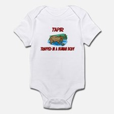 Tapir trapped in a human body Infant Bodysuit