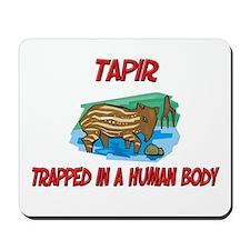 Tapir trapped in a human body Mousepad